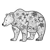 Bear doodle Royalty Free Stock Images