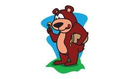 Bear Eating Honey Stock Photos