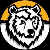 Bear emblem Royalty Free Stock Photography