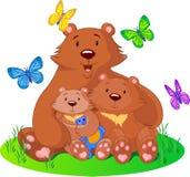 Bear_family stock photo