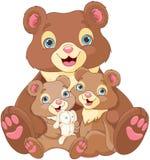 Bear family stock illustration