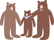 Bear Family Stock Images