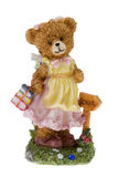 Bear figure Royalty Free Stock Photography