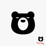 Bear flat icon. Vector Royalty Free Stock Photography