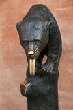 Bear Fountain Royalty Free Stock Photo