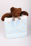 Bear Gift. Gift Bear Royalty Free Stock Images