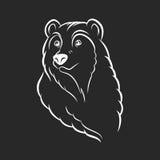 Bear head logo template emblem Stock Photography