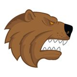 Bear head logo Stock Photography