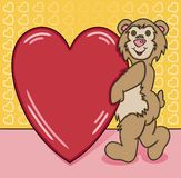 Bear Heart Too Stock Photography