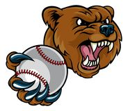 Free Bear Holding Baseball Ball Royalty Free Stock Photos - 122266868