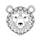 Bear icon. Animal and Ornamental predator design. Vector graphic Stock Image