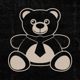 Bear icon Stock Photo