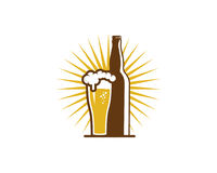Beer Icon Logo Design Element Royalty Free Stock Photos