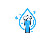 Beer Icon Logo Design Element Royalty Free Stock Photography
