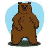 Bear cartoon Stock Photos