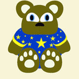 Bear illustration 3 Royalty Free Stock Photos