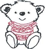 Bear illustration Royalty Free Stock Photo