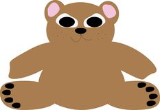 Bear illustration Royalty Free Stock Photos