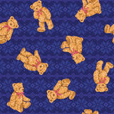 Bear illustration pattern Stock Photo