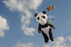 Bear kite Royalty Free Stock Image