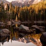 Bear Lake. Morning reflections in Bear Lake Royalty Free Stock Image