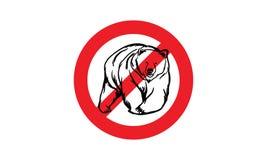 Bear Logo Royalty Free Stock Photo