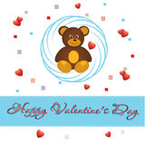 Bear_love Royalty Free Stock Photography