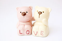 Bear Lover. Symbol of Love Royalty Free Stock Image