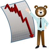 Bear Market Stock Image