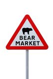 Bear Market Ahead Stock Image