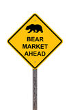 Bear Market Ahead Stock Images