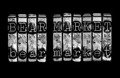 Bear market Stock Photography