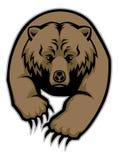 Bear mascot Royalty Free Stock Images