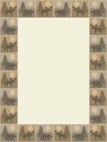Bear and Moose Rectangular Frame Stock Images