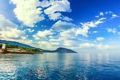 Bear Mountain (Au-Dag) near Hurzuf. Crimea, Ukraine Royalty Free Stock Photos