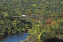 Bear Mountain Bridge Royalty Free Stock Photography