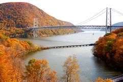 Bear mountain bridge Royalty Free Stock Photo
