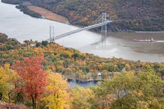 Bear Mountain Bridge stock photo