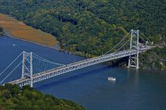 Bear Mountain Bridge, NY Royalty Free Stock Photo