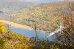 Bear Mountain Park, New York. Autumn landscape of Bear Mountain Park, New York, USA Stock Photo
