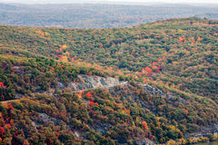 Bear Mountain Parkway Royalty Free Stock Images