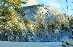 Bear Mountain- Waterford, Maine by Eric L. Johnson Photography Stock Images