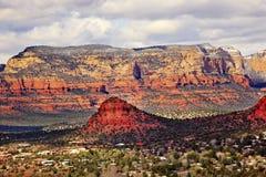 Bear Mountain West Sedona Arizona Royalty Free Stock Photography
