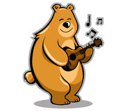 Bear Musician Stock Images