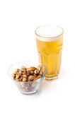 Bear and nuts Royalty Free Stock Photography