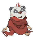 Bear. Panda. Cartoon Royalty Free Stock Photos
