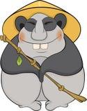 Bear. Panda. Cartoon Royalty Free Stock Photography