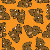 Bear pattern Stock Photography