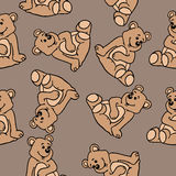 Bear pattern Royalty Free Stock Photos