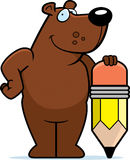 Bear Pencil Royalty Free Stock Images